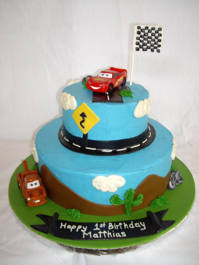 Race Cars Cake