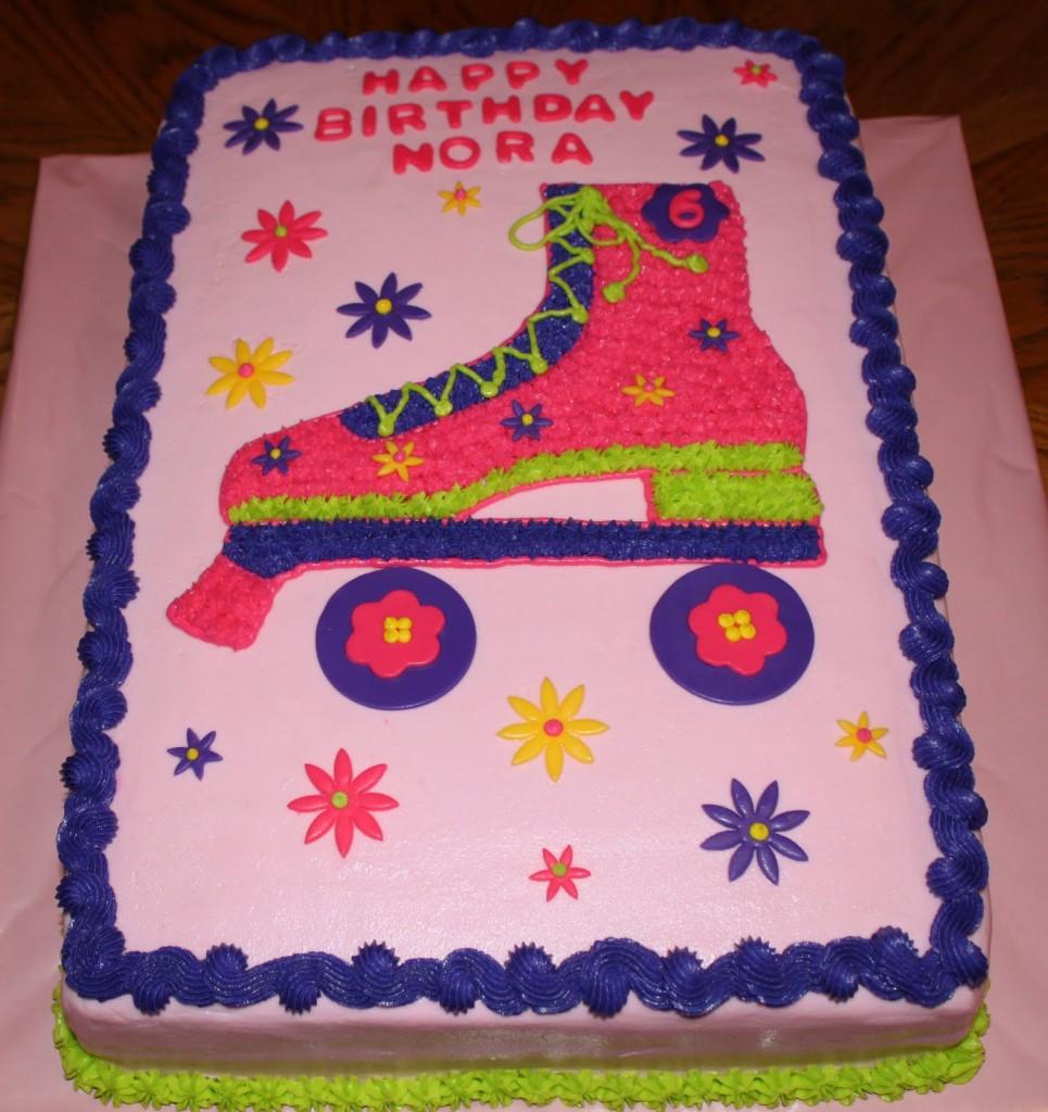 Roller Skate Cake Topper