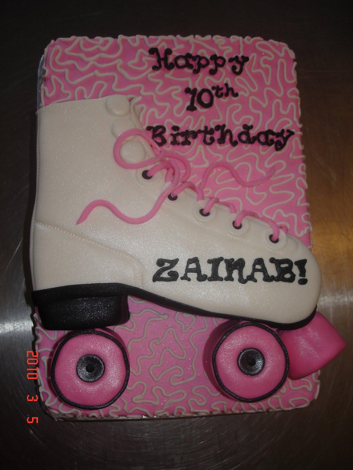 Roller Skate Cakes - Decoration Ideas   Little Birthday Cakes