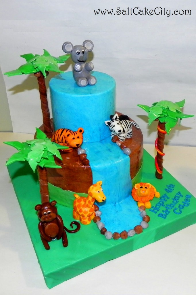 Safari Baby Cakes