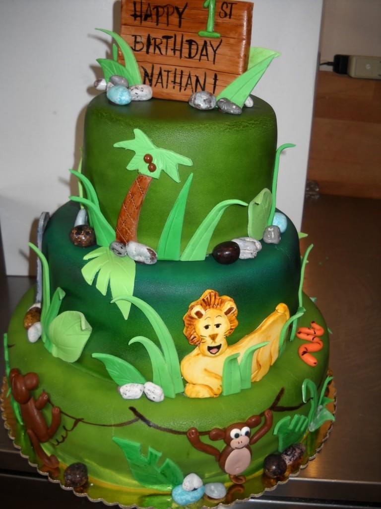 Safari Cakes Pictures