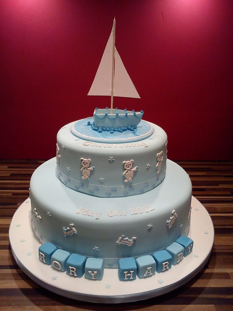 Sailboat Birthday Cakes