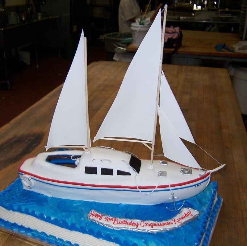 Sailboat Cakes – Decoration Ideas