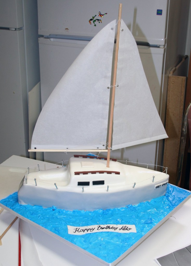 Sailboat Cakes For Kids