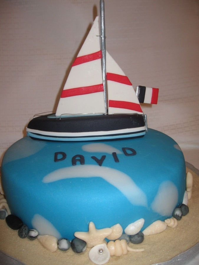 Sailboat Cakes Images
