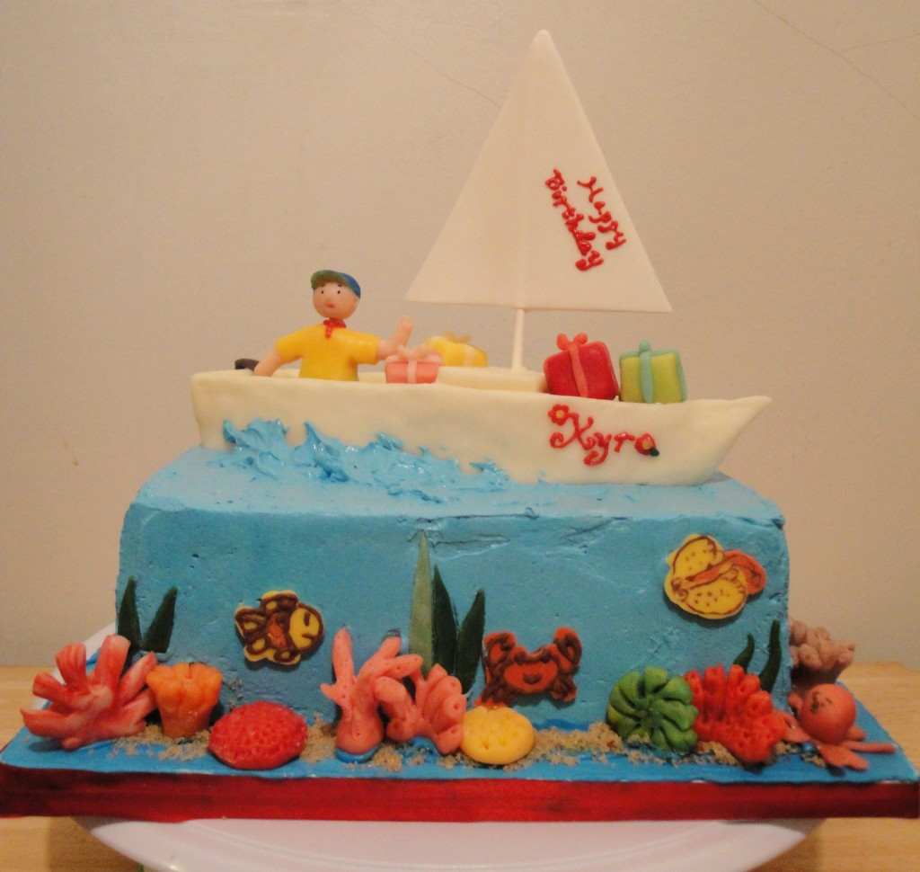 Sailboat Cakes Photos