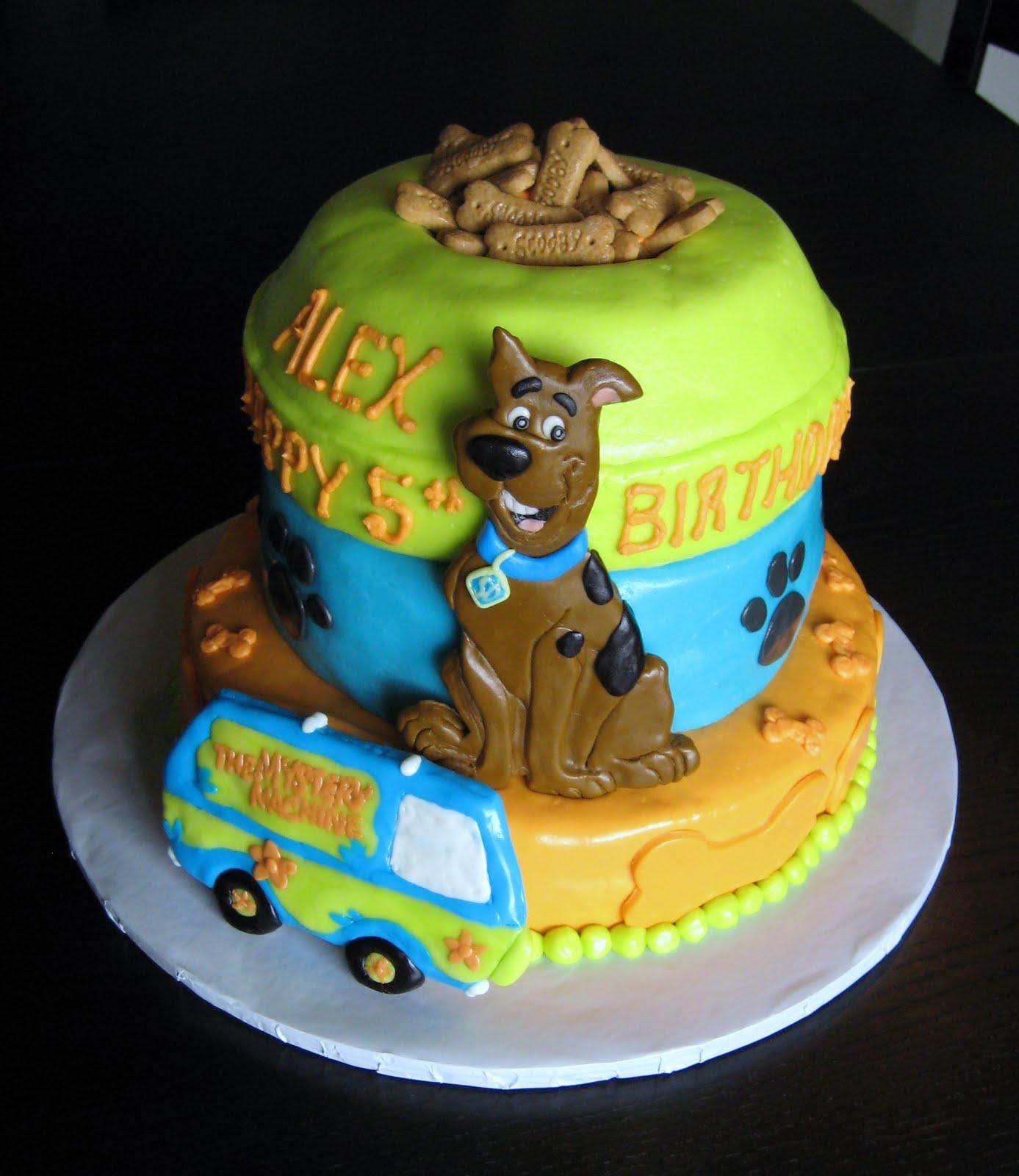 Pleasing Scooby Doo Cakes Decoration Ideas Little Birthday Cakes Funny Birthday Cards Online Alyptdamsfinfo
