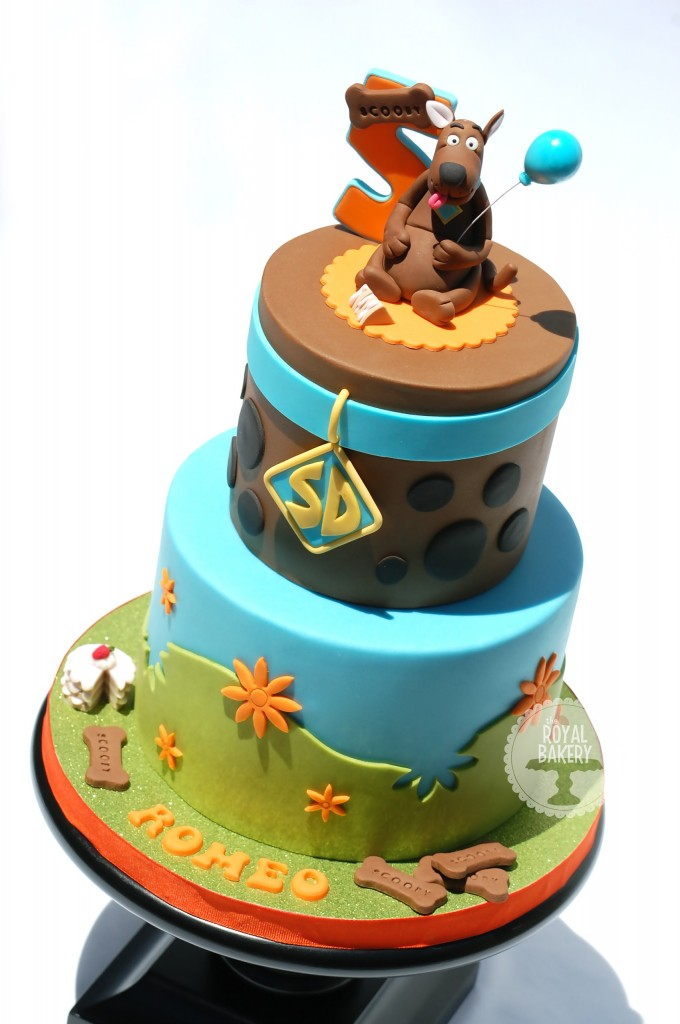 Scooby Doo Cake Decorations