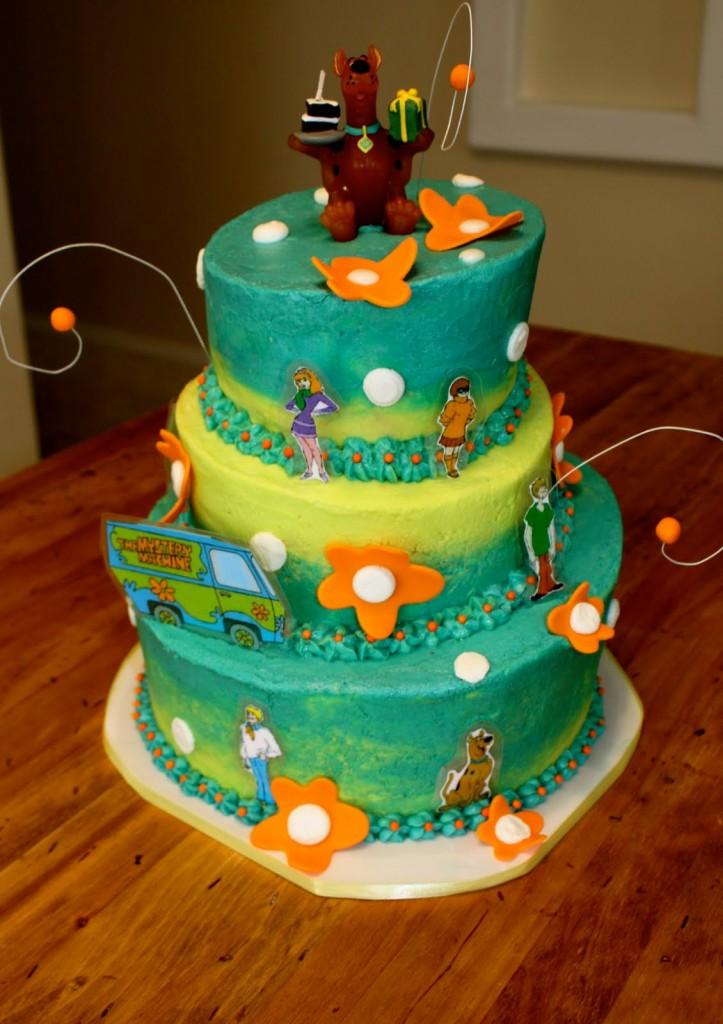 Scooby Doo Cakes
