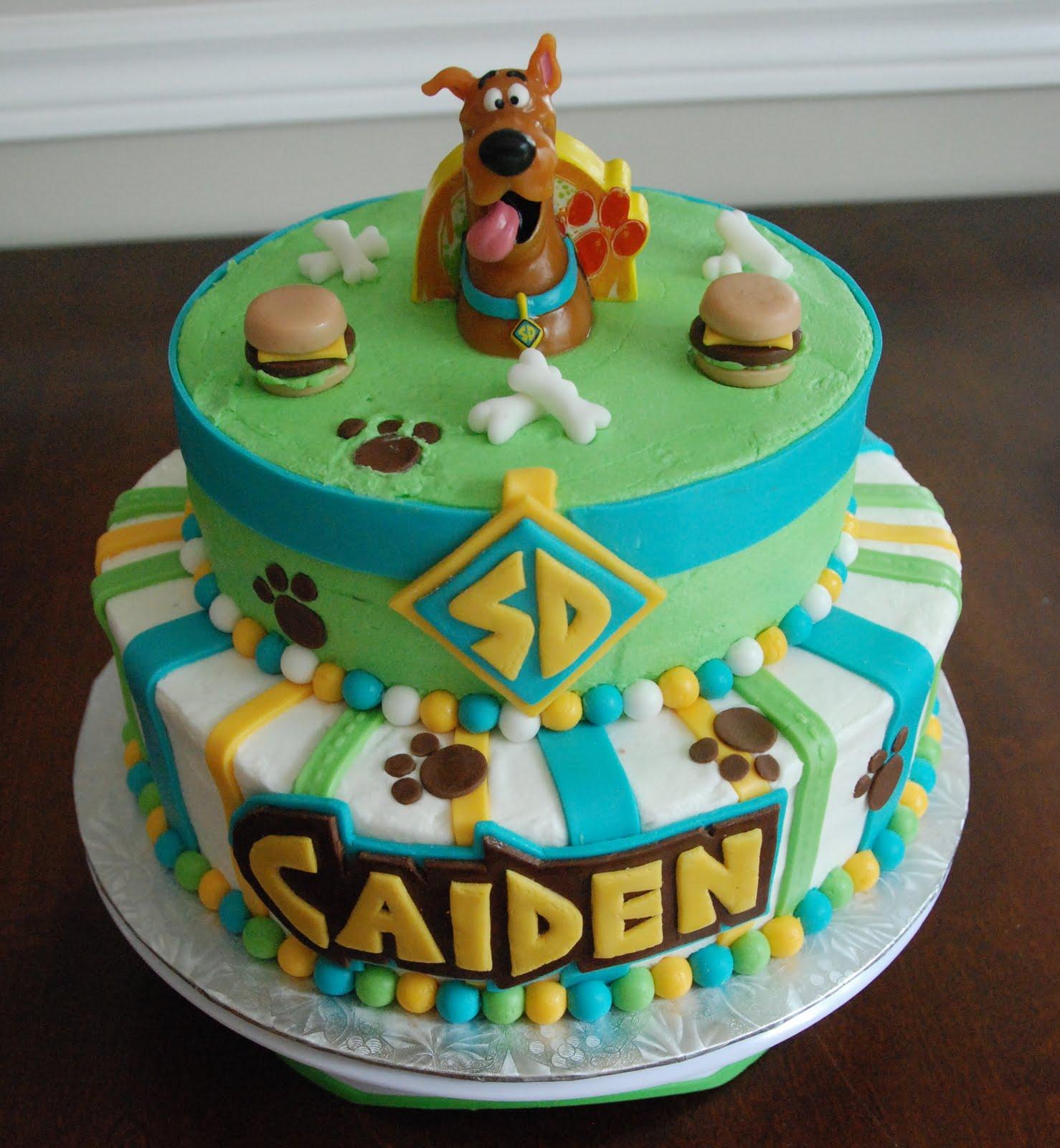 Pleasing Scooby Doo Cakes Decoration Ideas Little Birthday Cakes Funny Birthday Cards Online Elaedamsfinfo