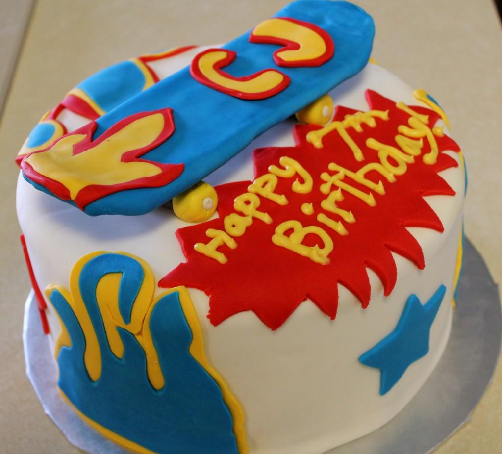 Skateboard Cake Images