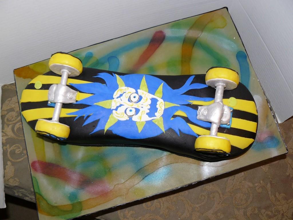 Skateboard Cakes Ideas