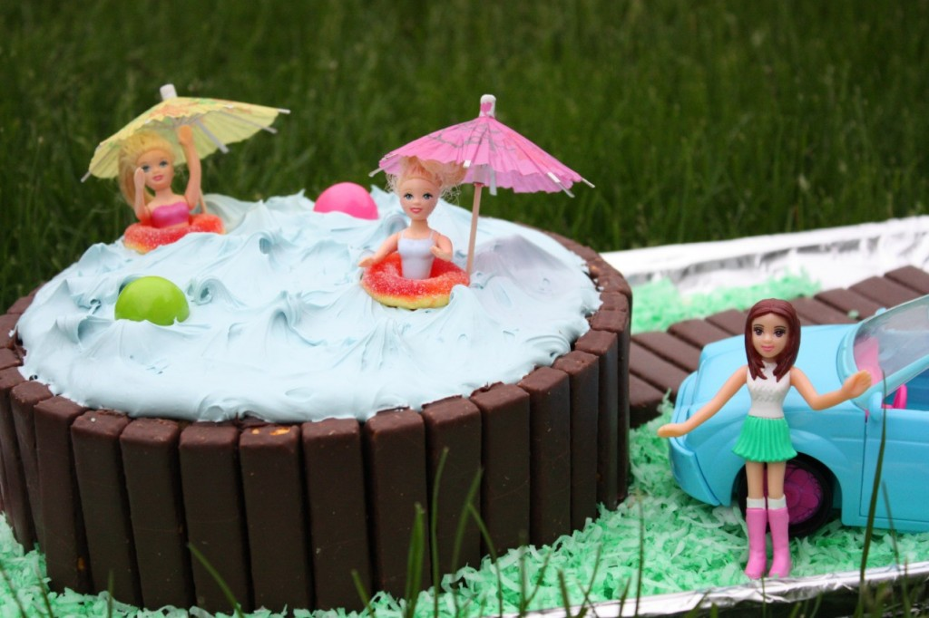 Photo of Swimming Pool Party Cakes