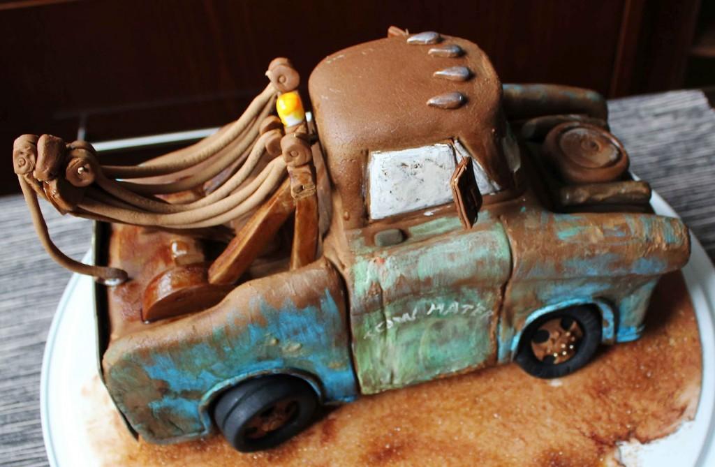 Tow Mater Birthday Cake
