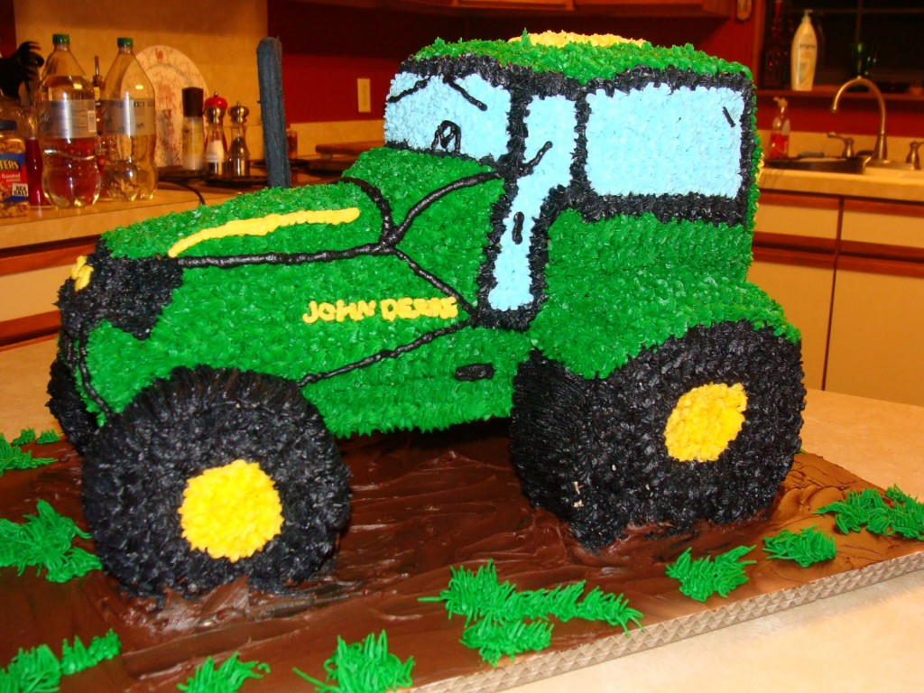 Tractor Cake Designs