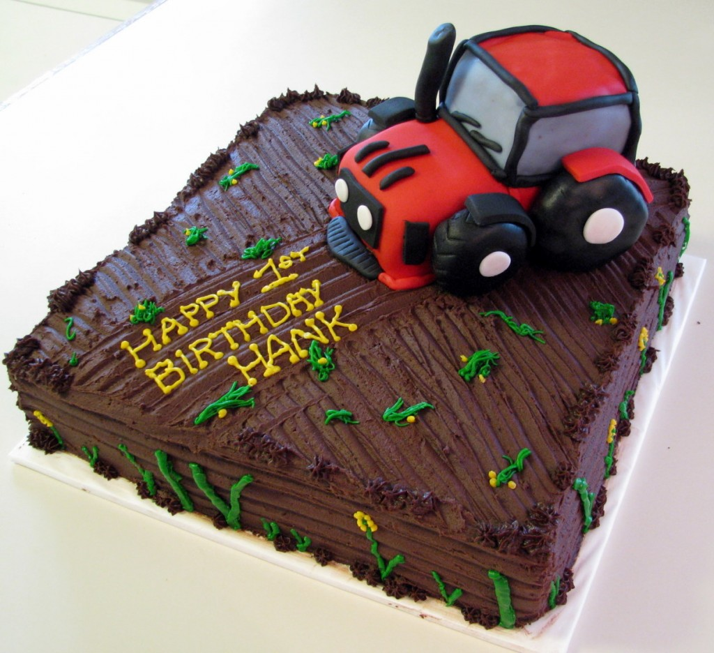 Tractor Cake Ideas