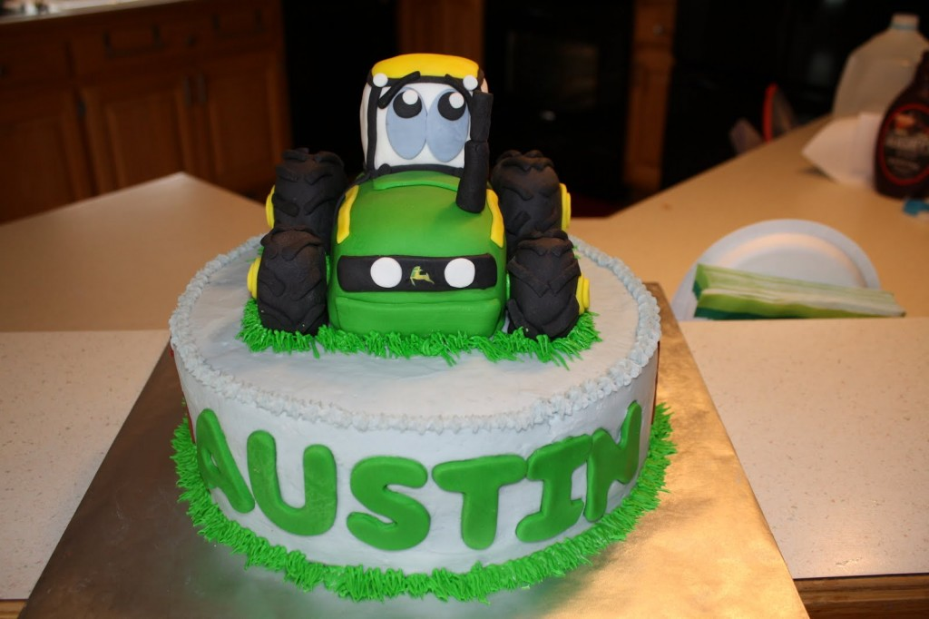 Tractor Cake Pictures