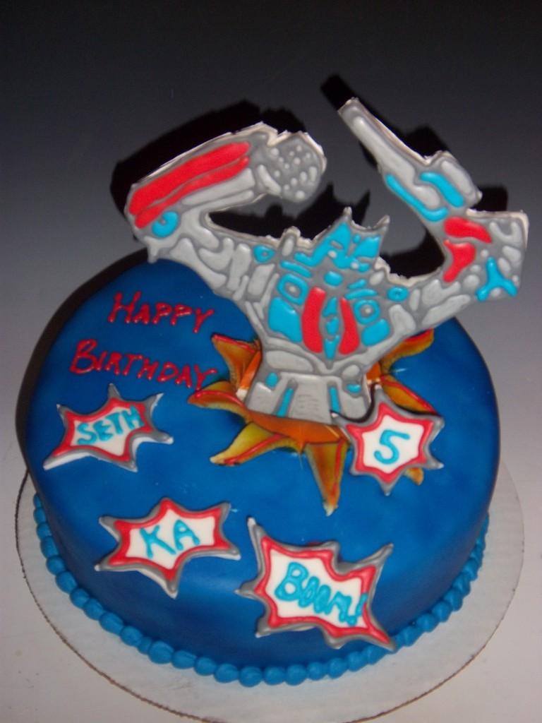 Transformers Cake Decorations