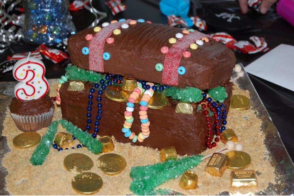 Treasure Chest Cake Ideas
