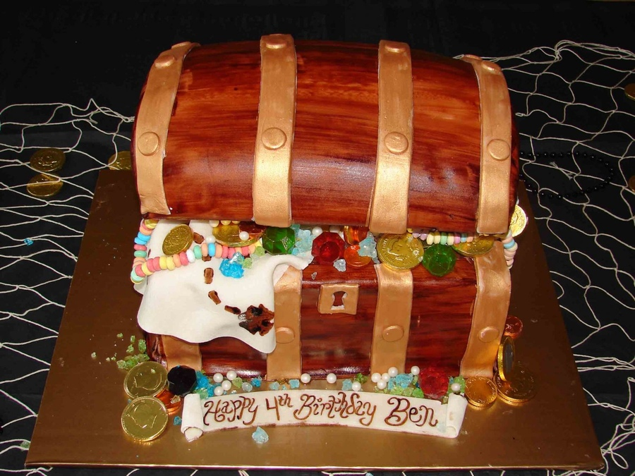 Treasure Chest Cake Images