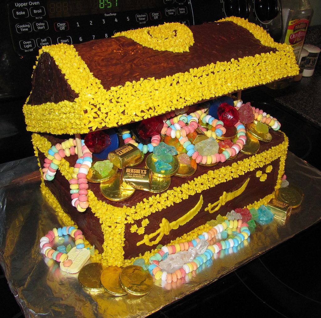 Treasure Chest Cakes Images