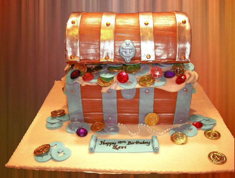 Treasure Chest Cakes Photos