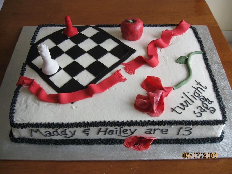 Twilight Birthday Saga Cakes