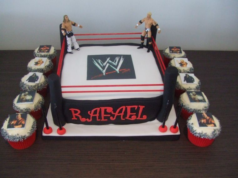 WWE Birthday Cakes For Kids