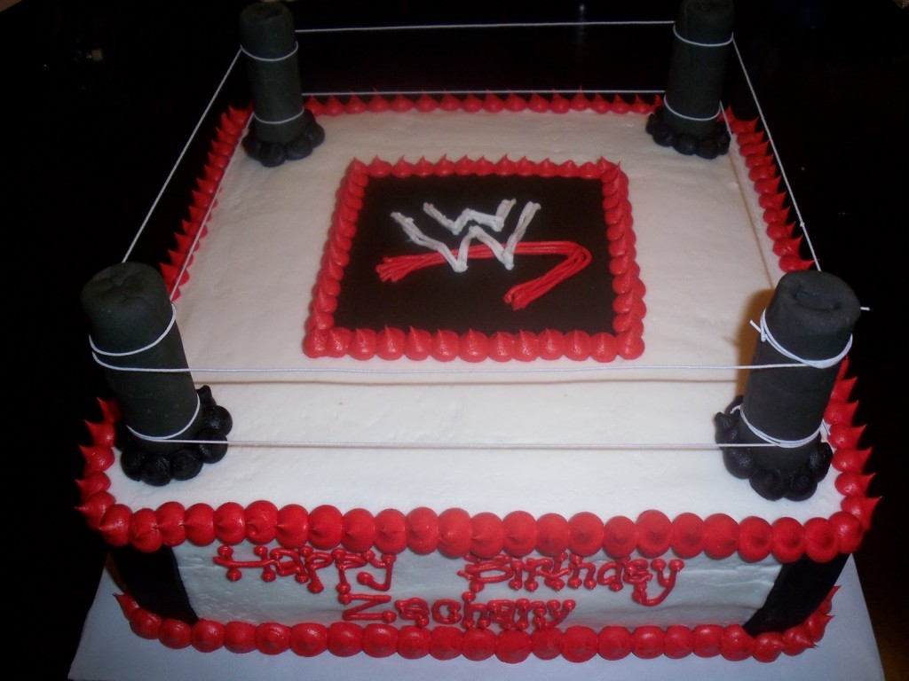 WWE Cake Decorations