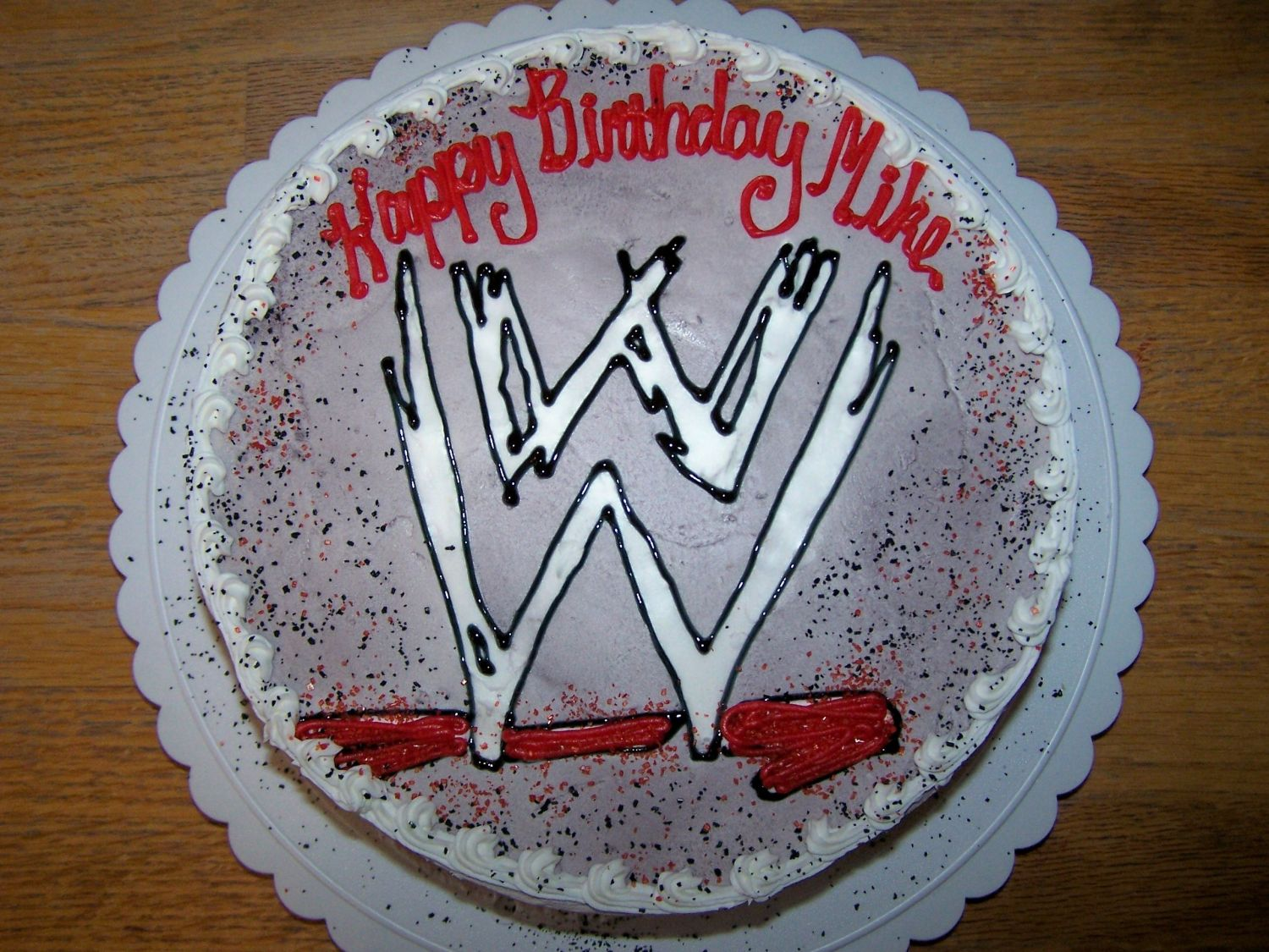 Pleasant Wwe Cakes Decoration Ideas Little Birthday Cakes Personalised Birthday Cards Cominlily Jamesorg