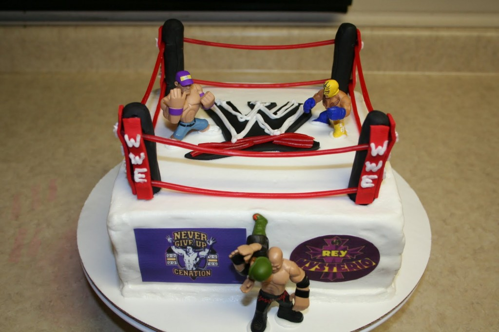 WWE Wrestling Birthday Cakes