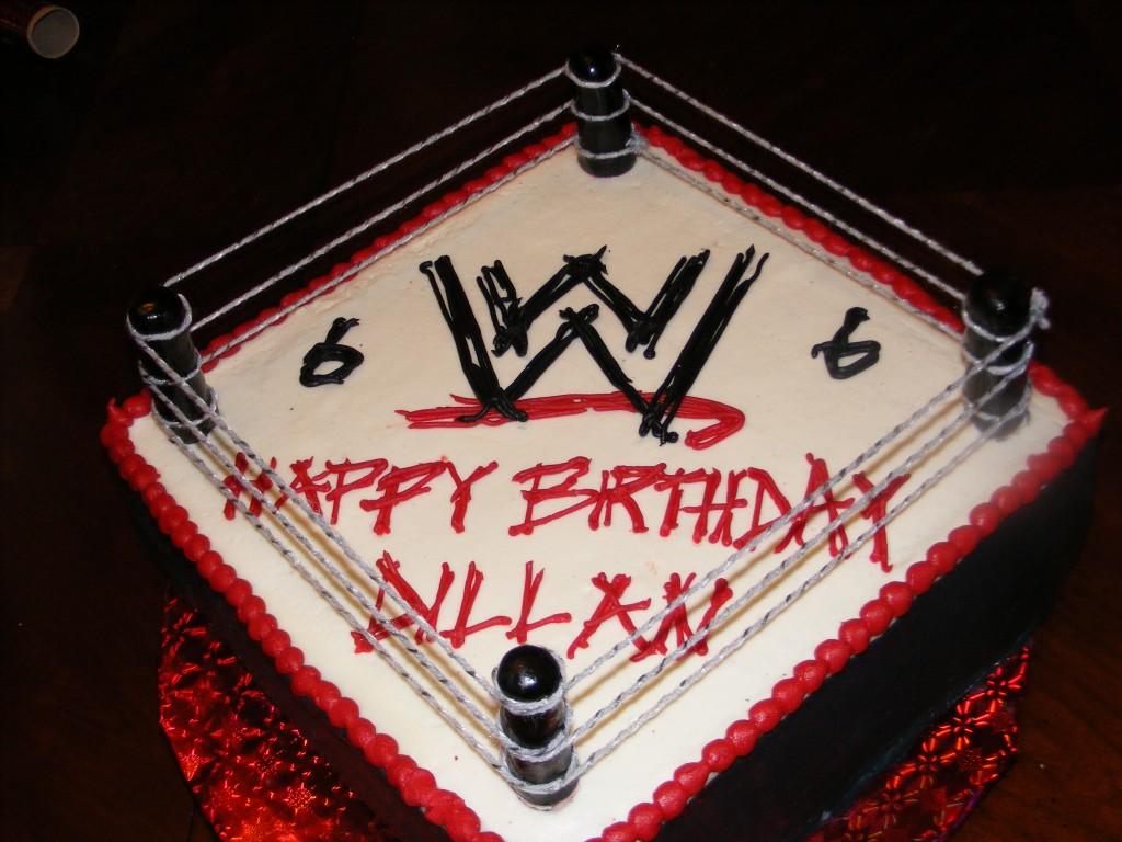 WWE Wrestling Cakes