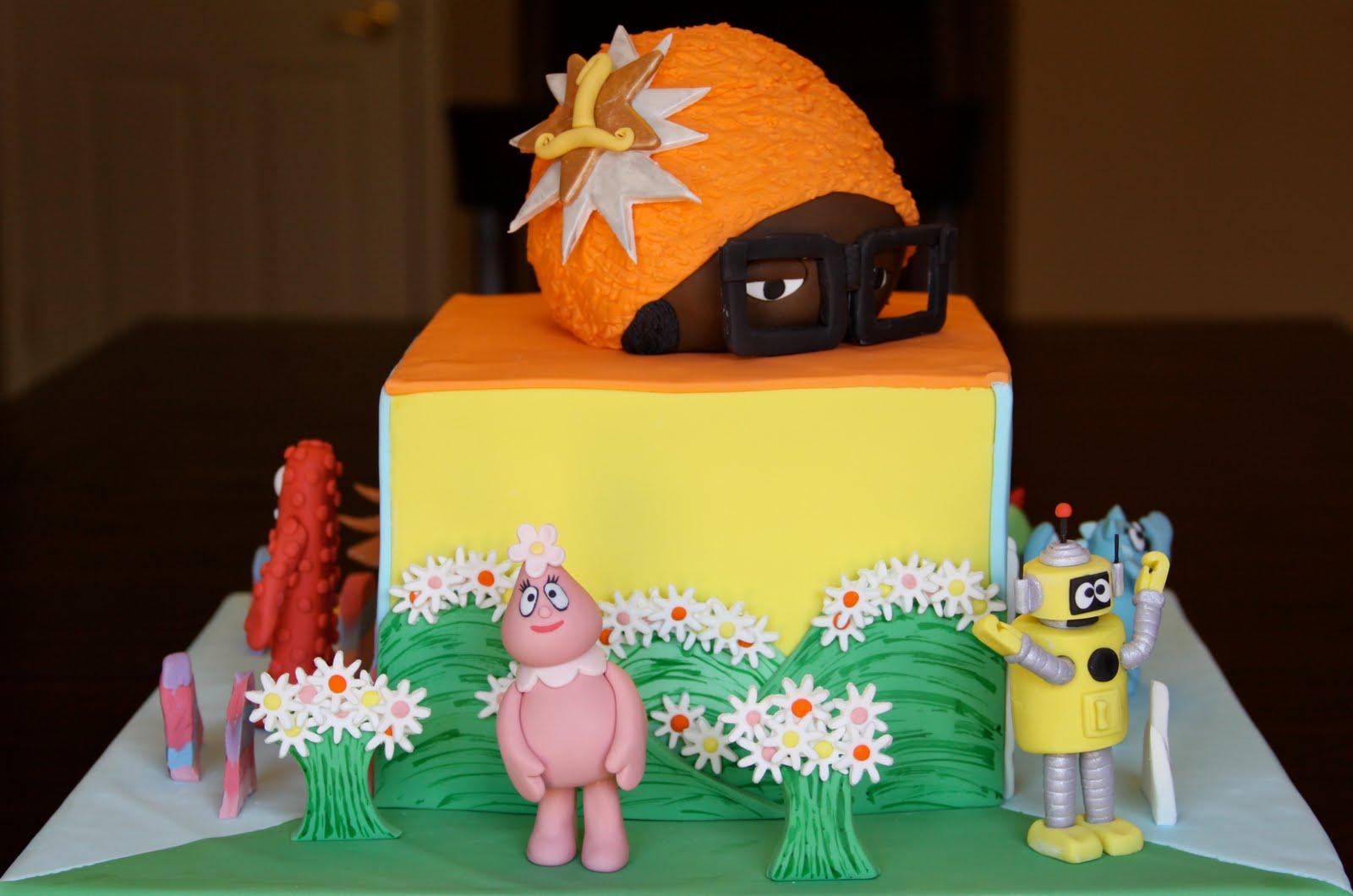 Brilliant Yo Gabba Gabba Cakes Decoration Ideas Little Birthday Cakes Funny Birthday Cards Online Elaedamsfinfo
