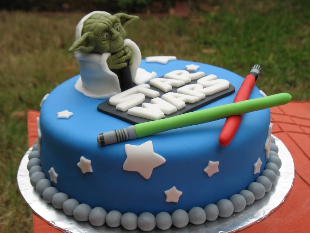 Yoda Birthday Cakes