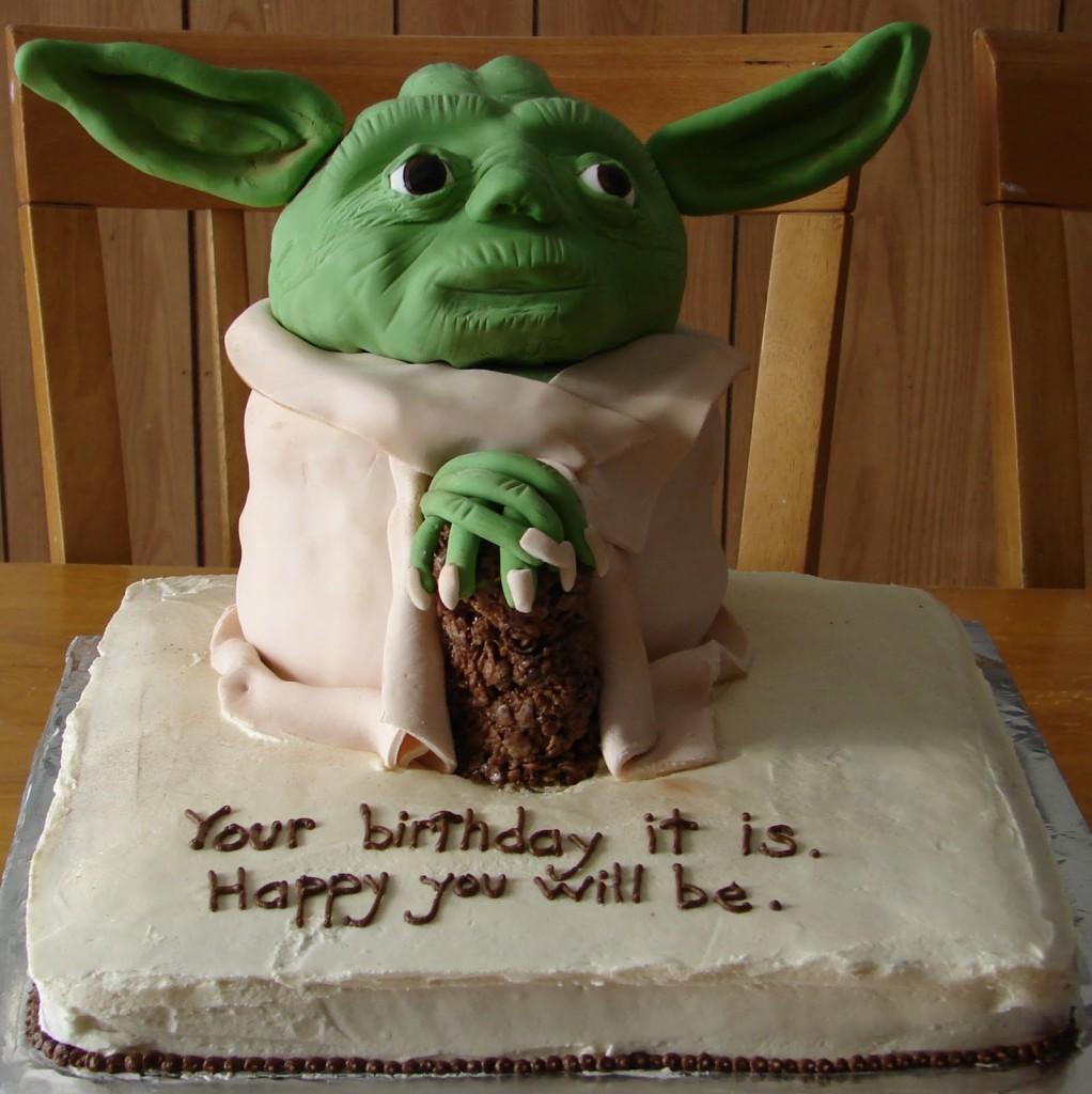 Yoda Cake Images