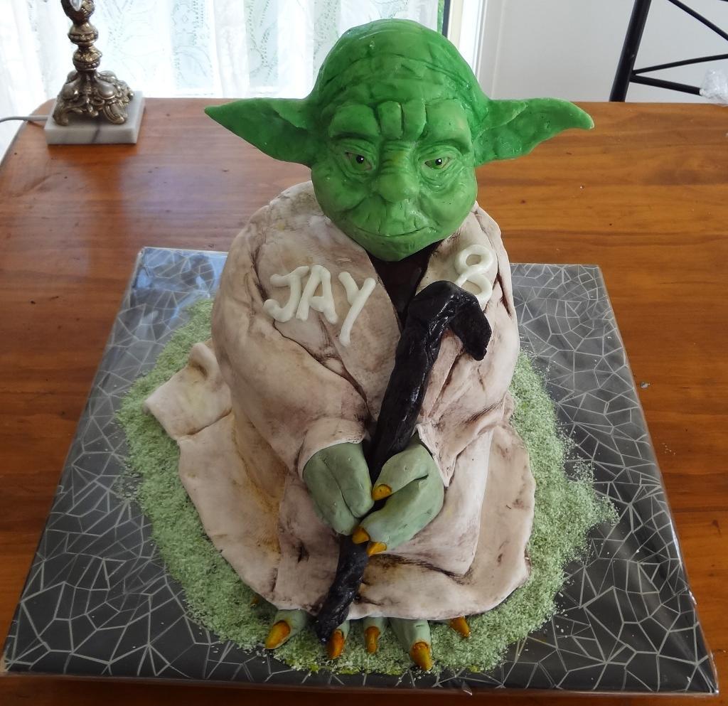 Yoda Cake Photos