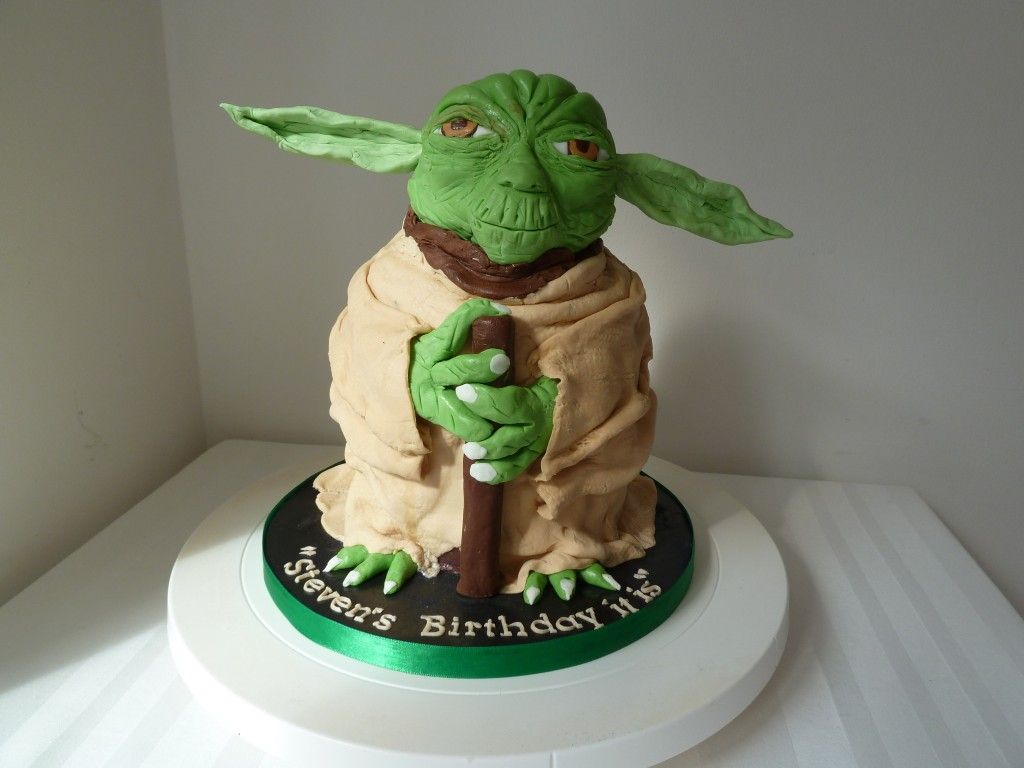 Yoda Cake Pictures