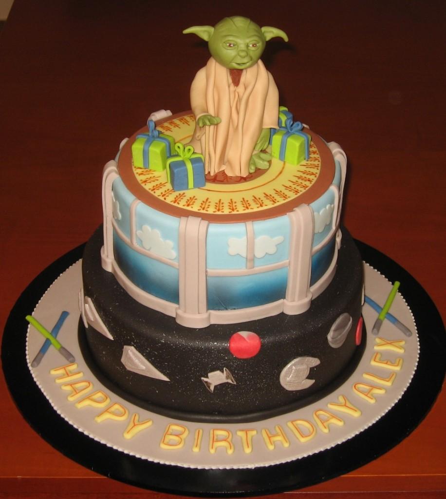 Yoda Cakes Images