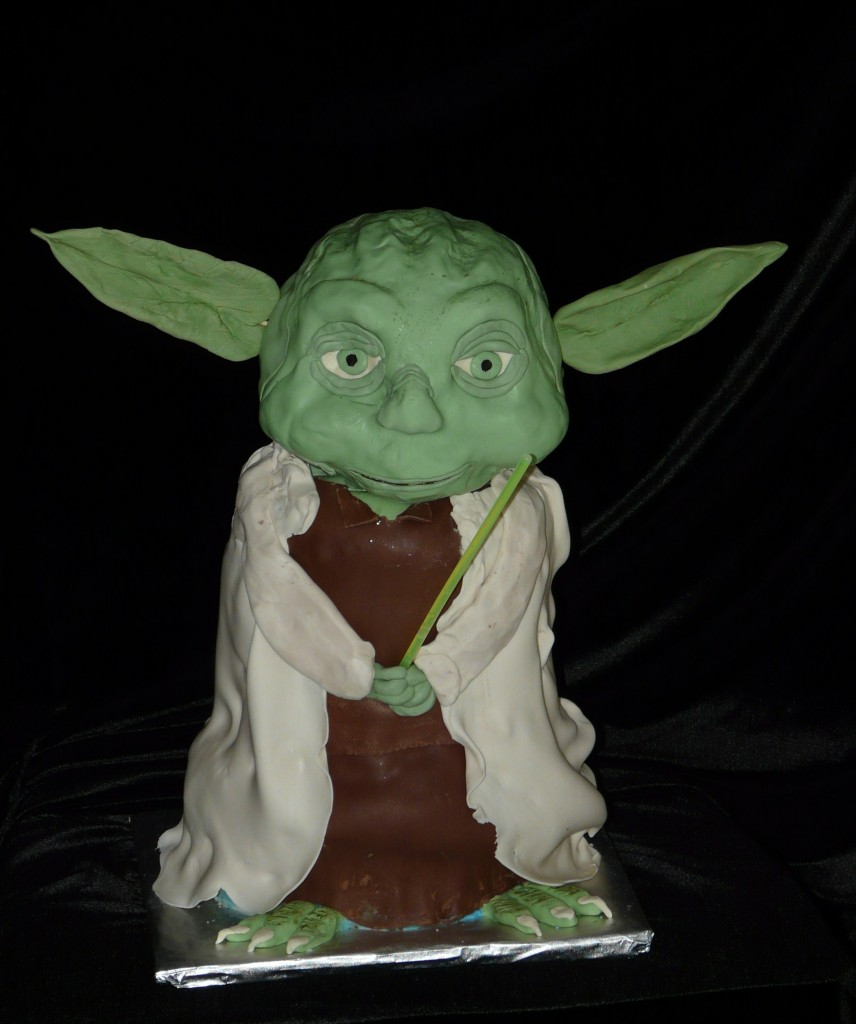 Yoda Cakes Pictures