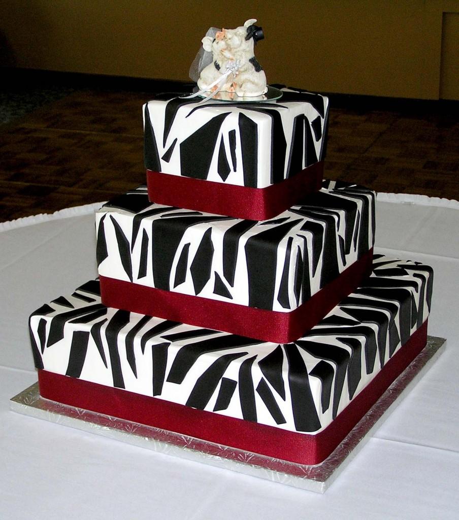 Zebra Cake Designs