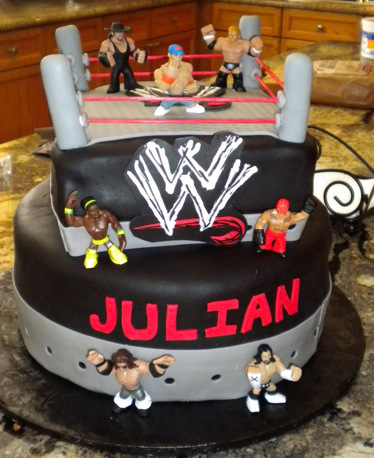 Wondrous Wwe Cakes Decoration Ideas Little Birthday Cakes Funny Birthday Cards Online Alyptdamsfinfo