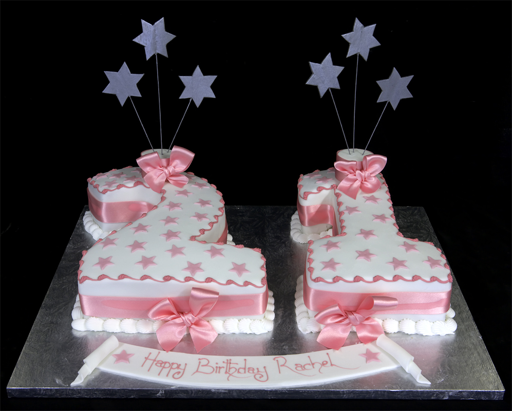 21st Birthday Cake Designs