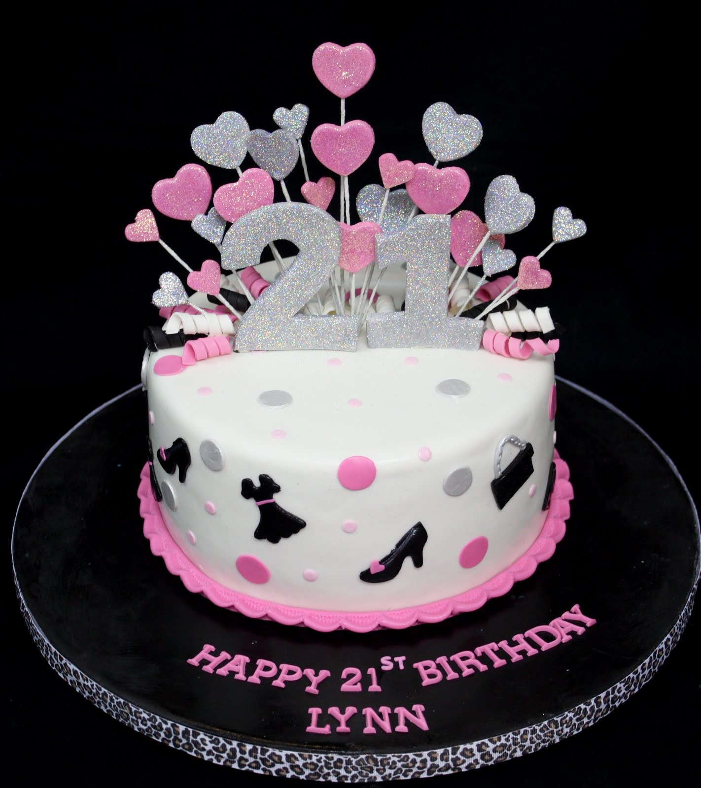 Terrific 21St Birthday Cakes Decoration Ideas Little Birthday Cakes Personalised Birthday Cards Veneteletsinfo