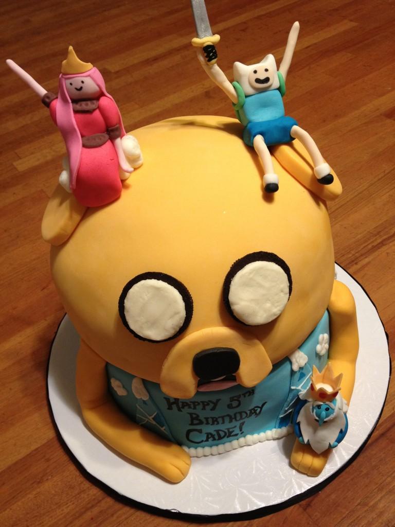 Adventure Time Cake Designs
