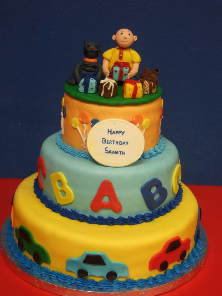 Caillou Birthday Cakes
