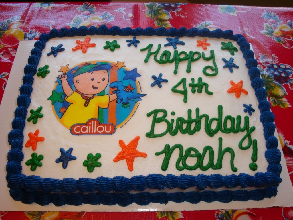 Caillou Cakes