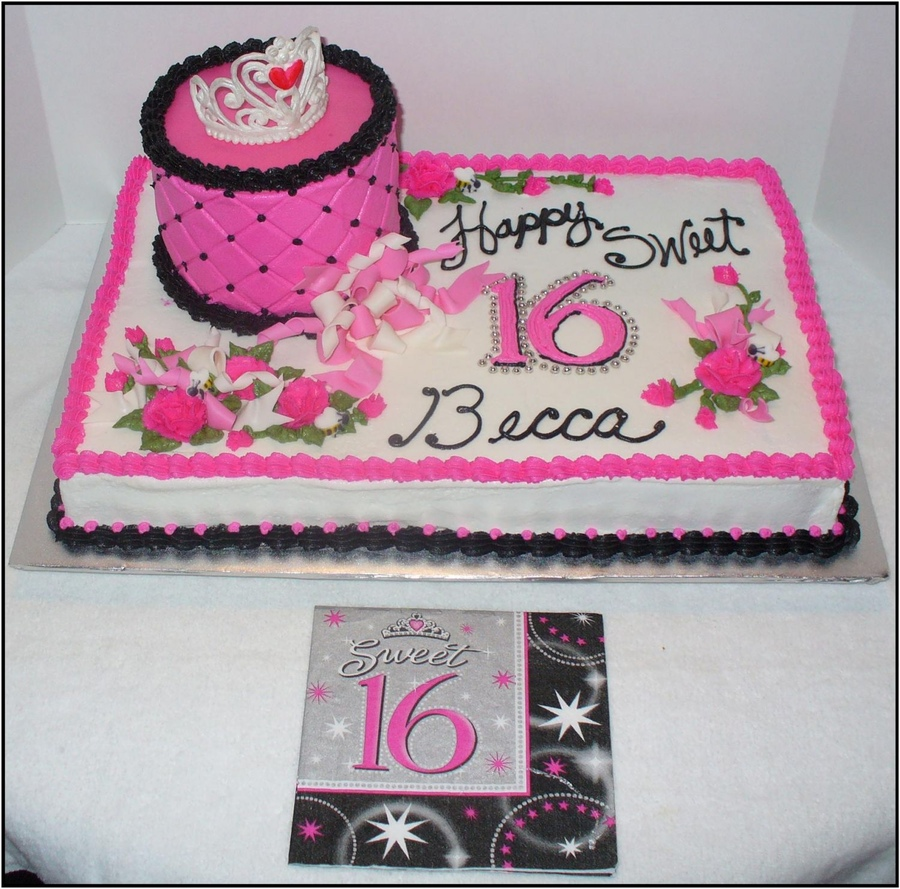 Fabulous Sweet 16 Cakes Decoration Ideas