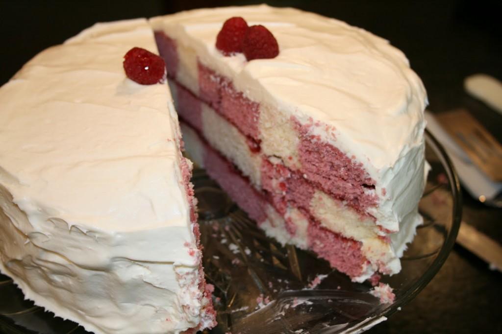 Checkerboard Cake Pan