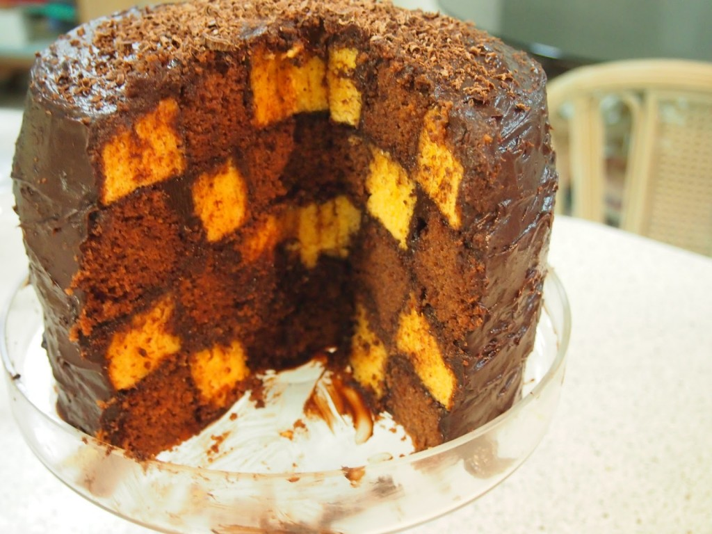 Checkerboard Cakes Images