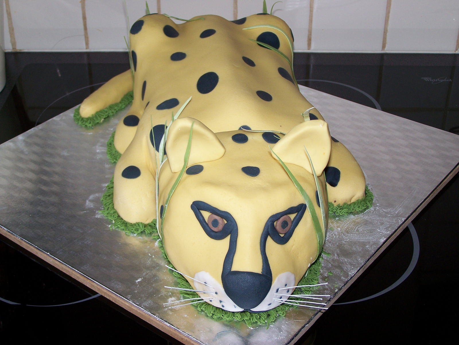 Swell Cheetah Cakes Decoration Ideas Little Birthday Cakes Personalised Birthday Cards Petedlily Jamesorg